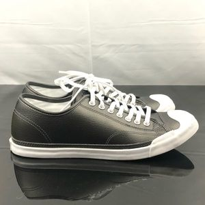 Converse Men's Black Low Top Jack Purcell 8.5